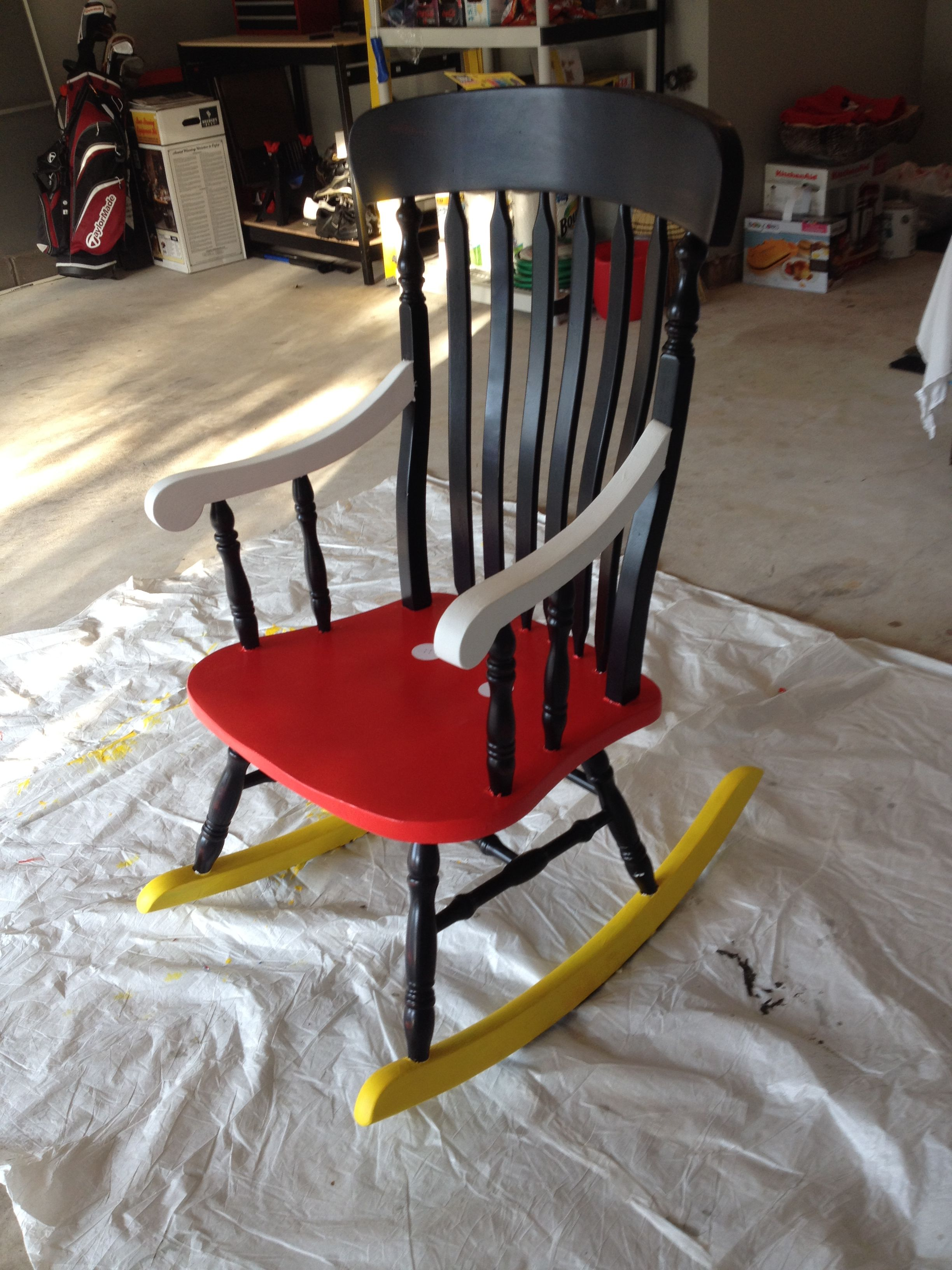 My Best Friendu0027s Amazing Mickey Mouse Chair For Her Classroom! @meggiej13