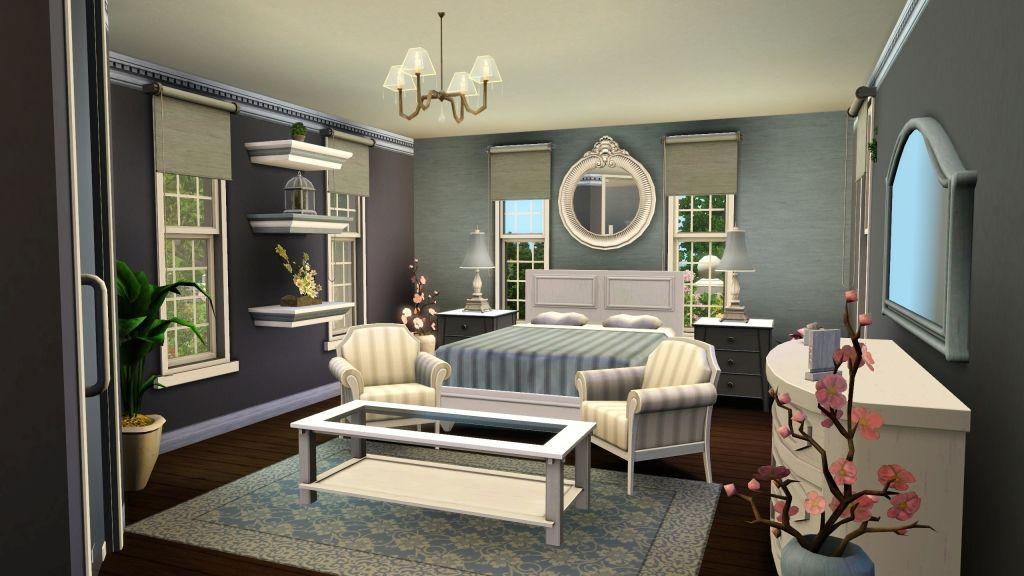 Koman1232 S Image Sims House Sims House Design Bedroom Decor Dark