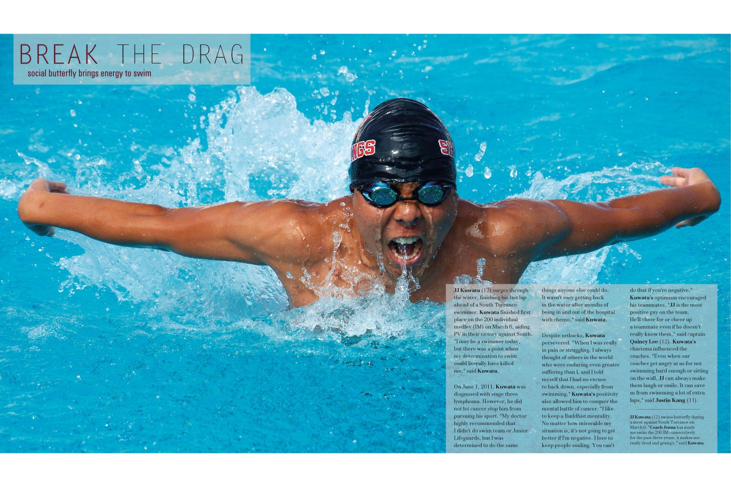 Pin By The Talon On Yearbooks Hot Off The Press Swimming Photos Yearbook Design Yearbook