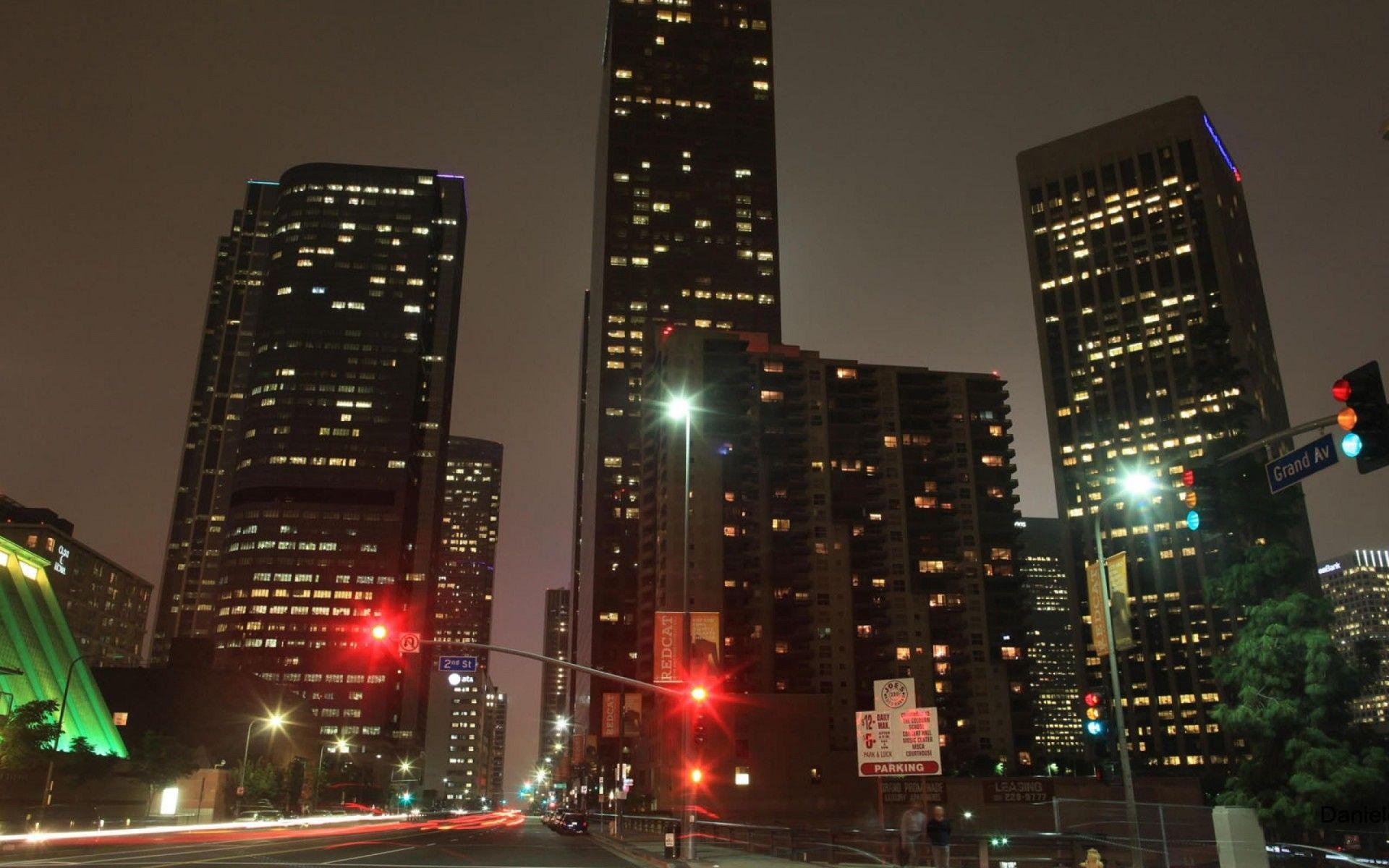 Stillwell Hotel Night Los Angeles California