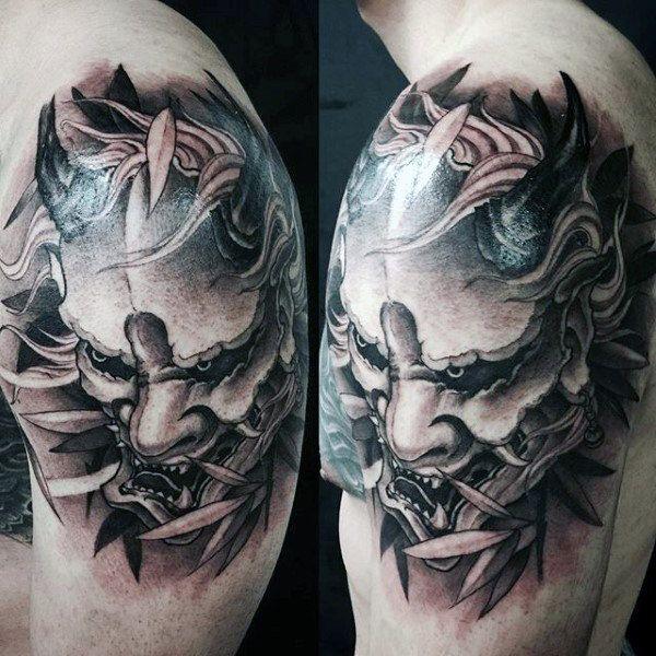 Top 103 Hannya Mask Tattoo Ideas 2020 Inspiration Guide Hannya Mask Tattoo Mask Tattoo Tattoos