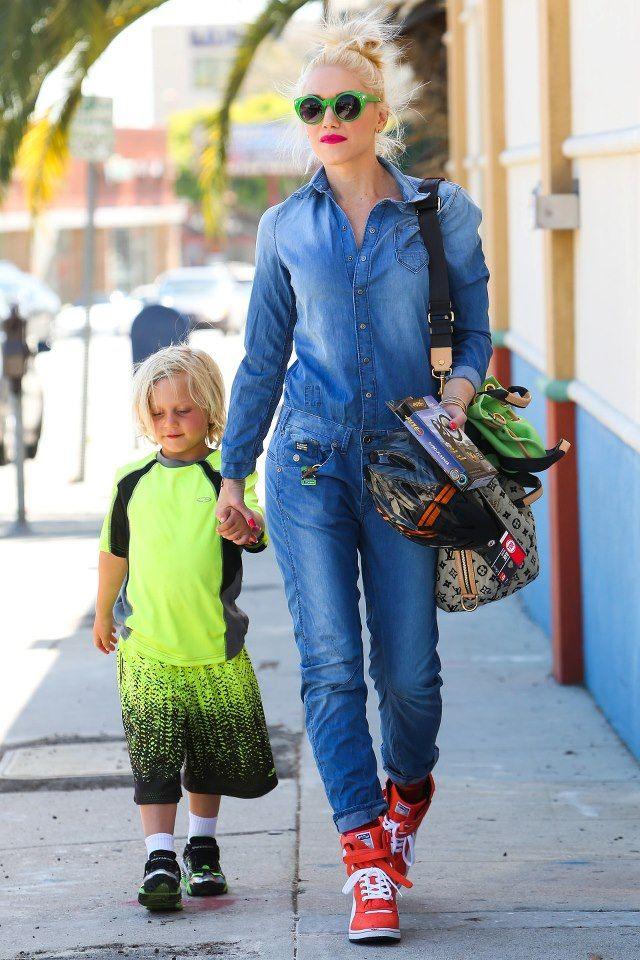 f5999a05a2c59 Gwen Stefani. Gwen Stefani Wedge Sneakers ...
