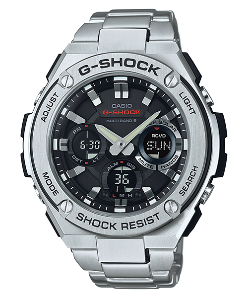 6b28869d52 How to set time on Casio G-Shock GST-W110 / 5444 | casio G shock | G ...