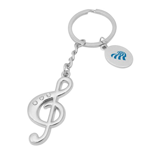 Put A Logo On It The Promotional Products Marketplace Key Tags Metal Music Keychain