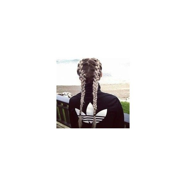 Braided Hairstyles For Kids Liked On Polyvore Featuring