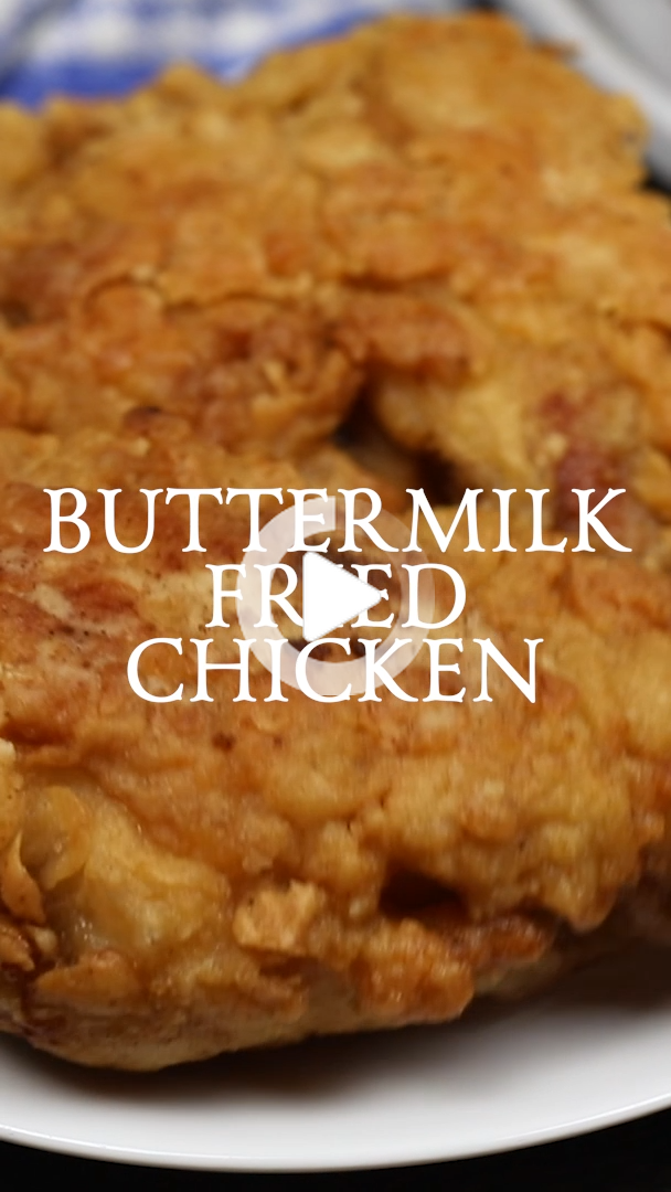 Buttermilk Fried Chicken In 2020 Buttermilk Recipes Fried Chicken Recipe Southern Fried Chicken Recipes