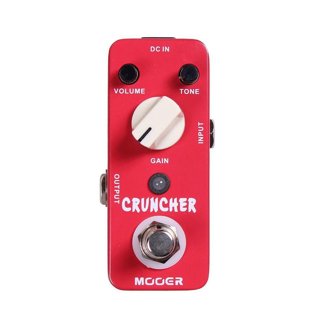 MOOER Cruncher High Gain Distortion Pedal | Distortion ...