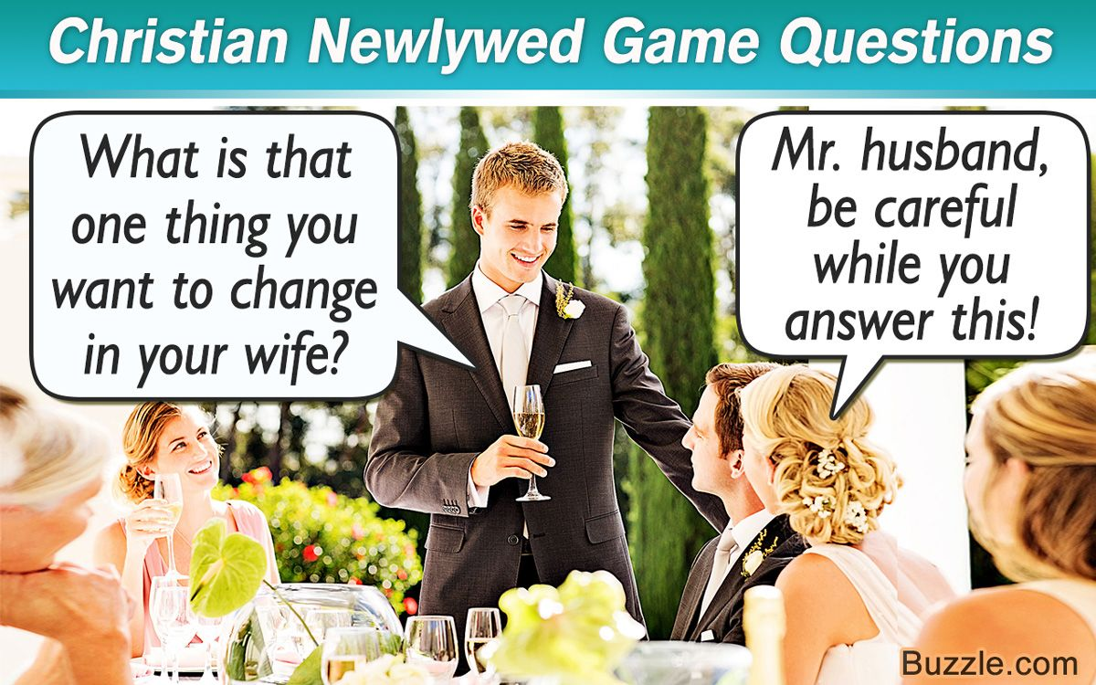 Christian Newlywed Game Questions That are Pretty