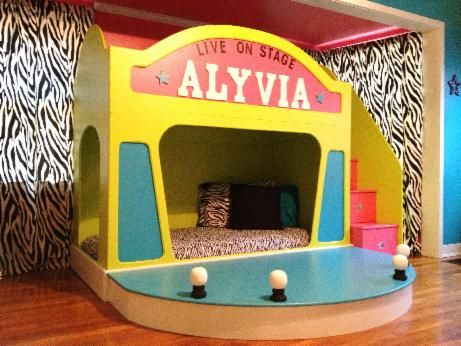 Girls beds unique custom kids theme playhouse beds best prices best options craft ideas - Unique girls bunk beds ...