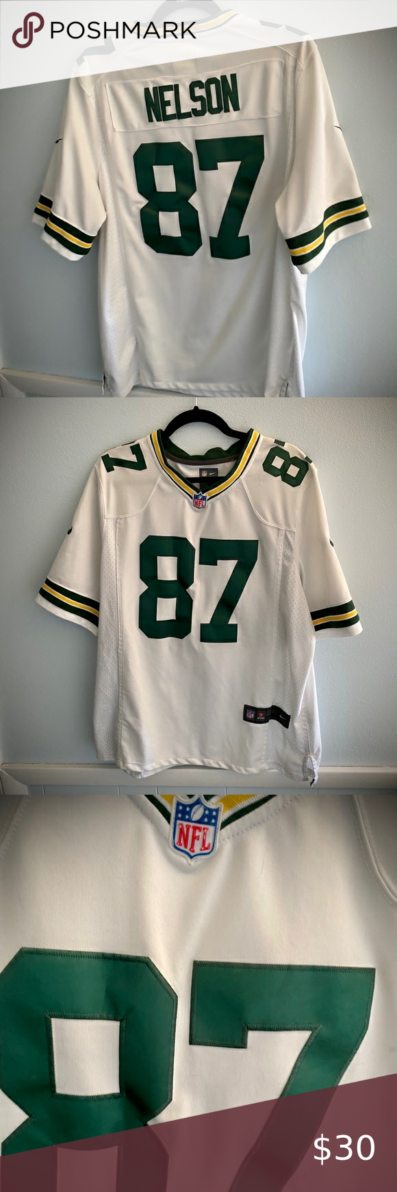 Green Bay Packers 87 Nelson Jersey Official Nfl In 2020 Nike Shirts Green Bay Packers Nfl