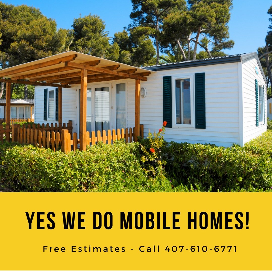 Did You Know We Also Work On Mobile Homes Too Call Today For Your Free Estimate 407 610 6771 Www Tprci Com Roofing Specialists Clermont Cool Roof