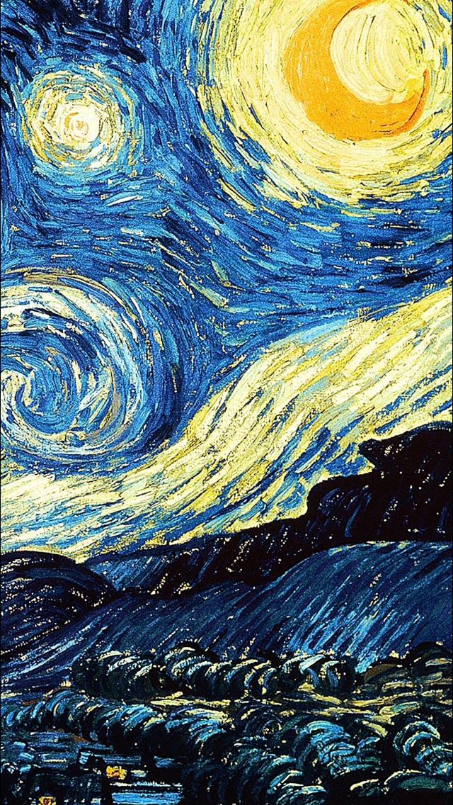 Starry night cover. Starry night cover Van Gogh Wallpaper ...