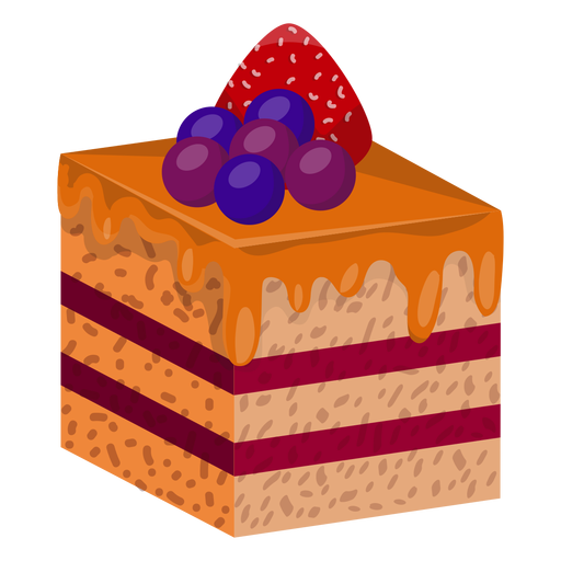 Cake Slice With Berries Ad Ad Affiliate Berries Slice Cake Berries Cake Slice Background Design