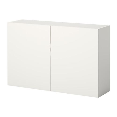 KNOXHULT Wandschrank mit Türen, weiß | Wandschränke, Türen weiß und ...