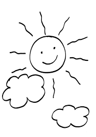 Resultado De Imagen De Sol Coloring Pages Easy Drawings Prints