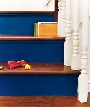 21 Ways To Enhance An Entryway. Painted Stair RisersPainted ...