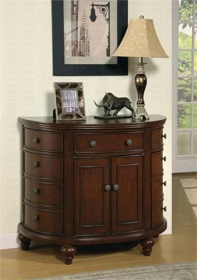 Best Antique Walnut Hallway Chest With Drawers Coaster 400 x 300