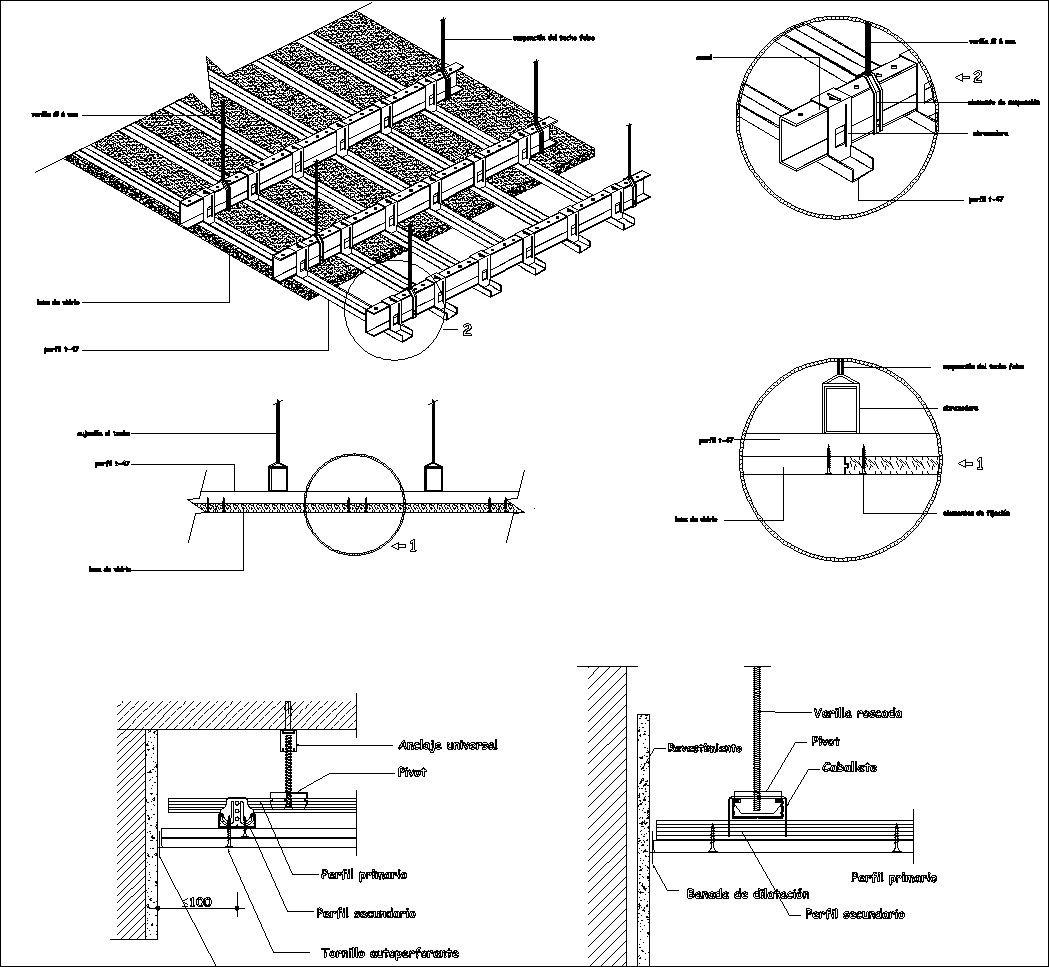 Free Ceiling Details 1 Cad Design