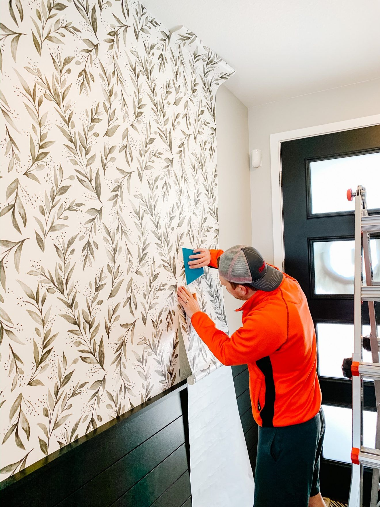 Entryway Peel And Stick Wallpaper Sprucing Up Mamahood Peel And Stick Wallpaper Magnolia Home Collection Ship Lap Walls