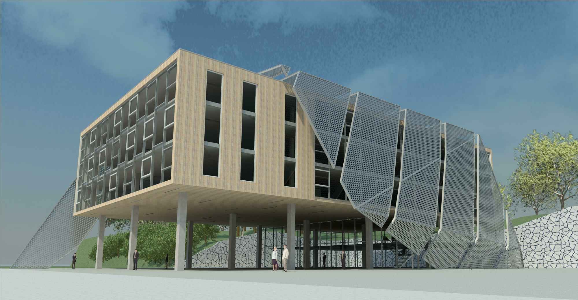 Starting on this project in revit i can and i will for Casa moderna revit