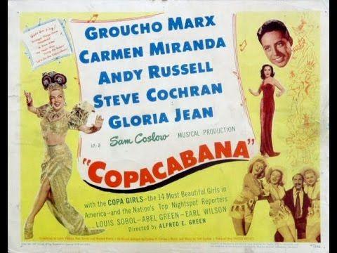 Carmen Miranda Copacabana 1947 Legendado Youtube Title Card Lobby Cards United Artists