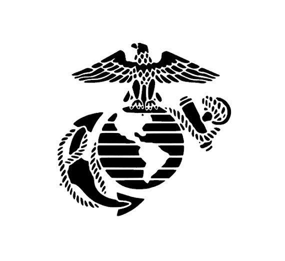 Usmc Eagle Globe And Anchor Sticker Car Decal Usmc Marines Globe Tattoos Eagle