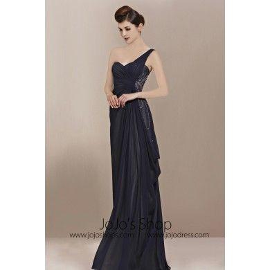 bc175a6b3717 Grecian Navy Grecian Goddess Prom Formal Evening Dress cx830020 ...