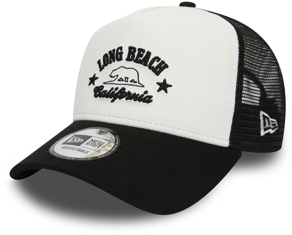 NEW ERA Patch Trucker Cap Truckercap Meshcap Basecap Baseballcap Curved Brim