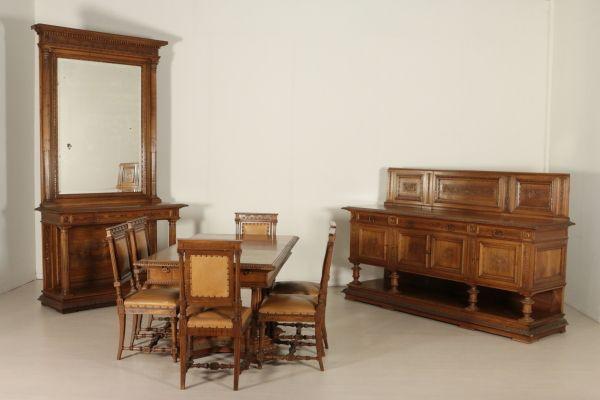 Credenza Con Tavolo A Ribalta : Credenza bureau legno con ribalta in vari colori l p h