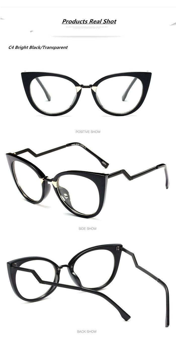 Boyeda Women Cat Eye Eyeglasses Frame Optical Glasse Frame Retro Eyeglasses Computer Glasses  Boyeda Women Cat Eye Eyeglasses Frame Optical Glasse Frame Retro Eyeglasses...