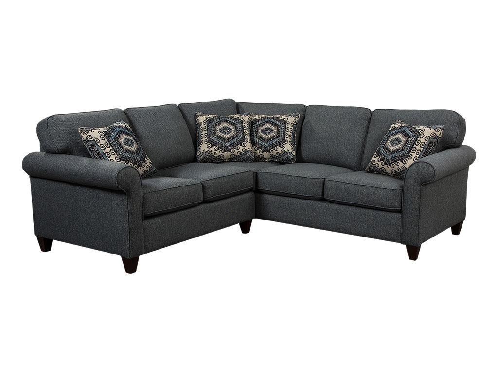 craftmaster living room sectional 7421-sect - home furnishings of