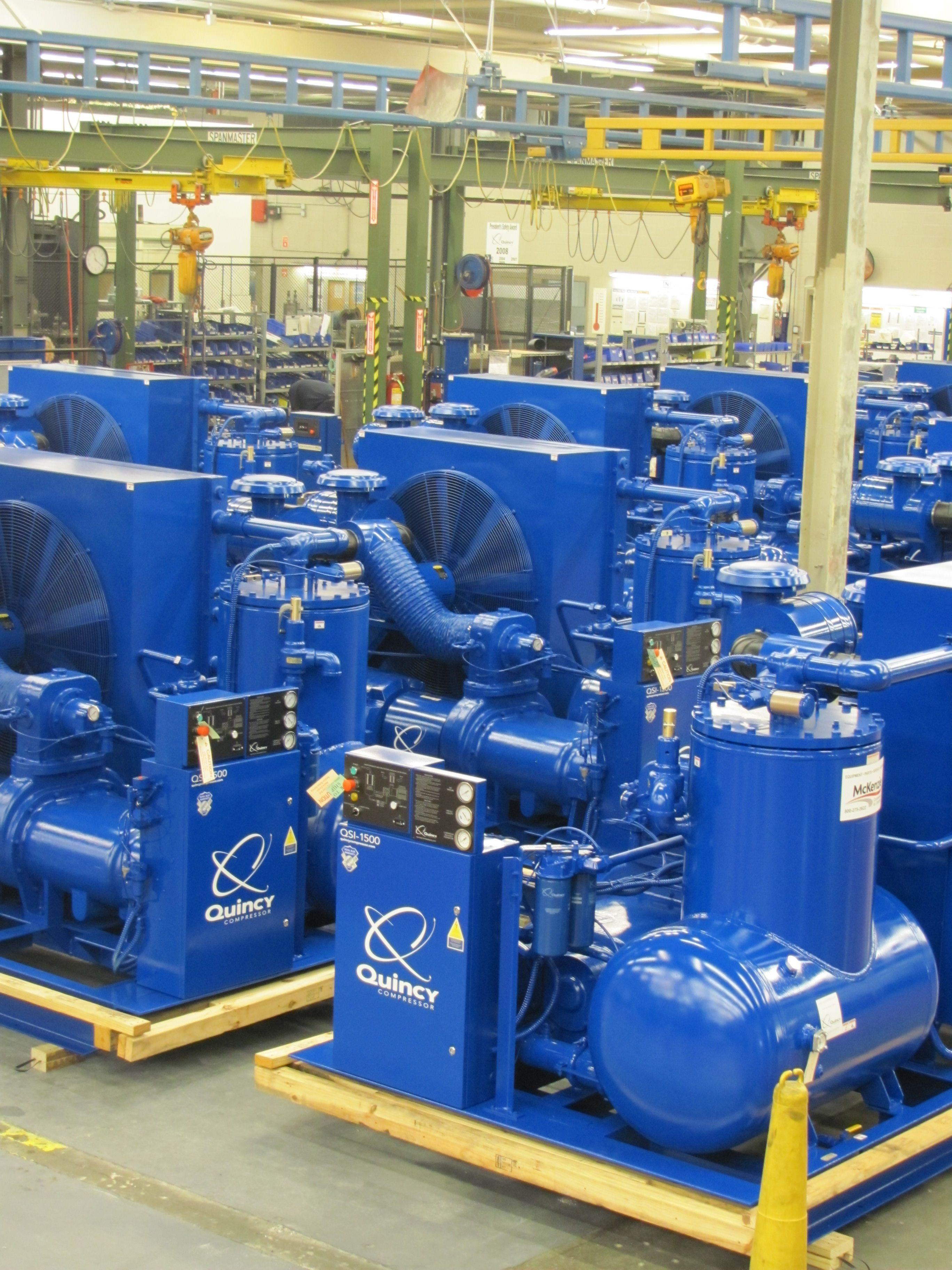 Quincy Compressors Compressors, Vacuum pump, Air compressor