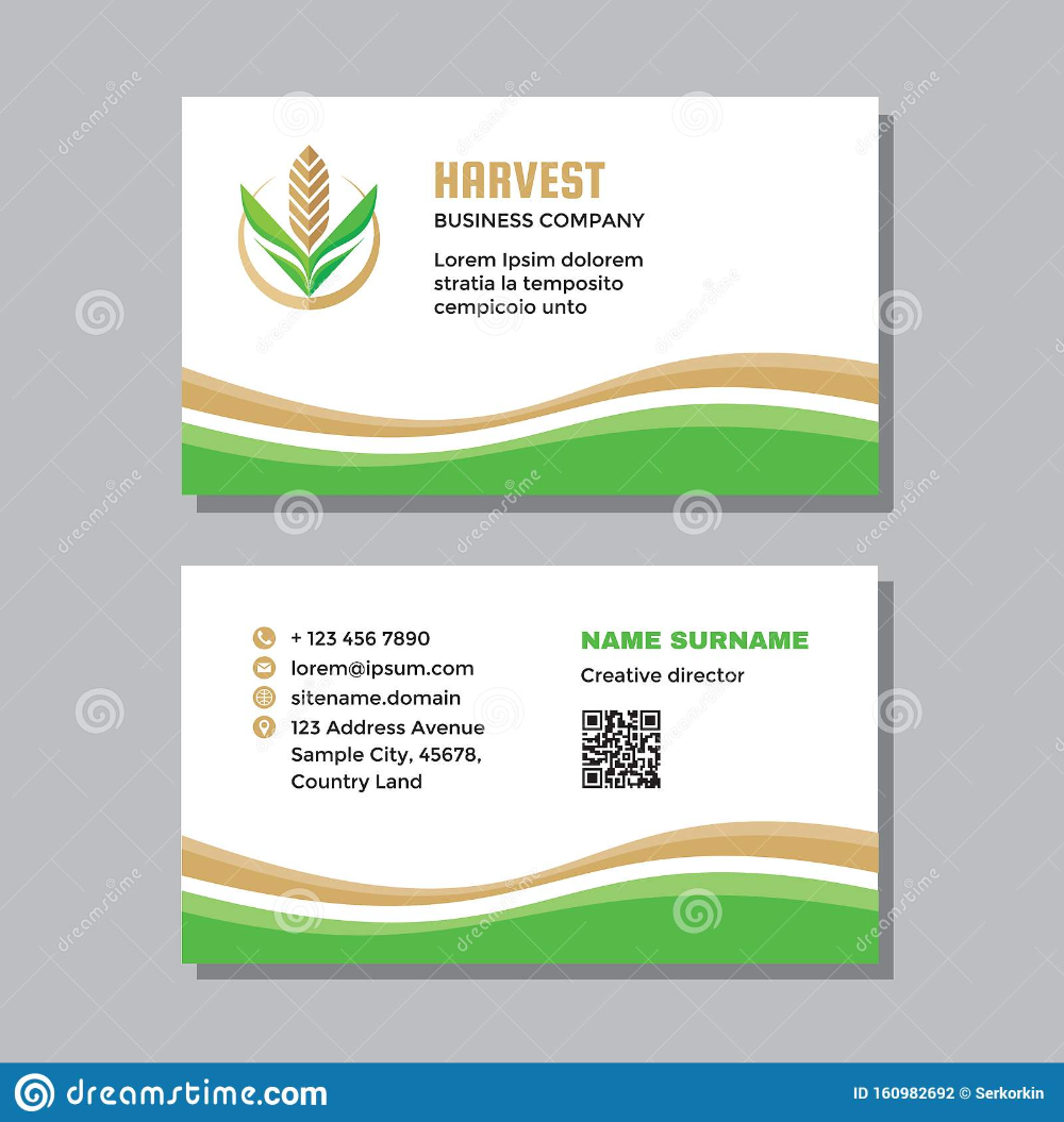 Agriculture Business Card Templates Free Download Free Business Card Templates Card Templates Business Card Psd Free
