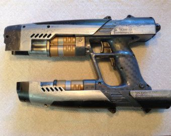 Custom Painted Guardians Of The Galaxy Star-Lord Nerf Gun Cosplay