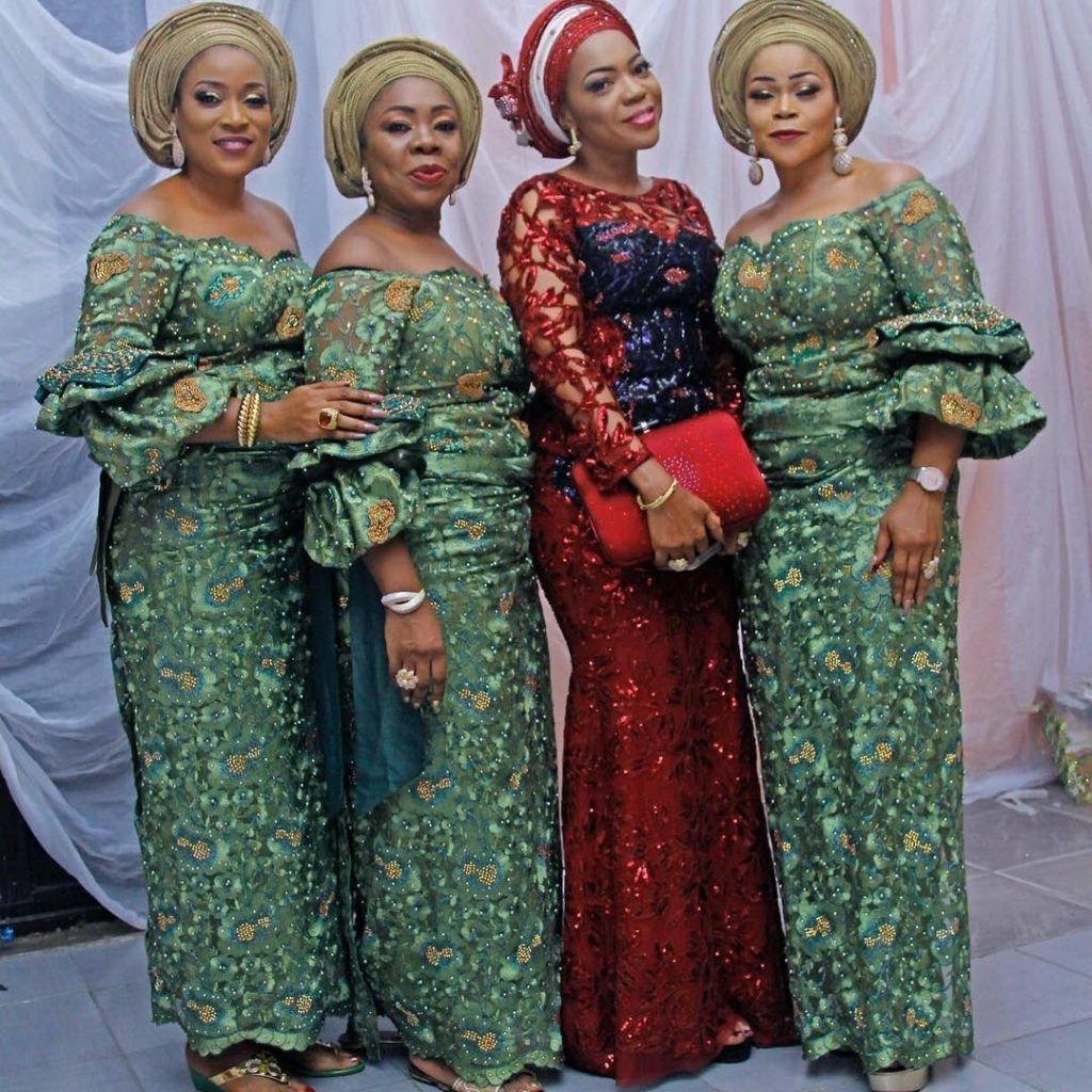 Yes We Love Us Some Gorgeous Aso Ebi Styles Some Naija Senior Citizens Are Giving Latest African Fashion Dresses African Fashion Dresses African Lace Dresses