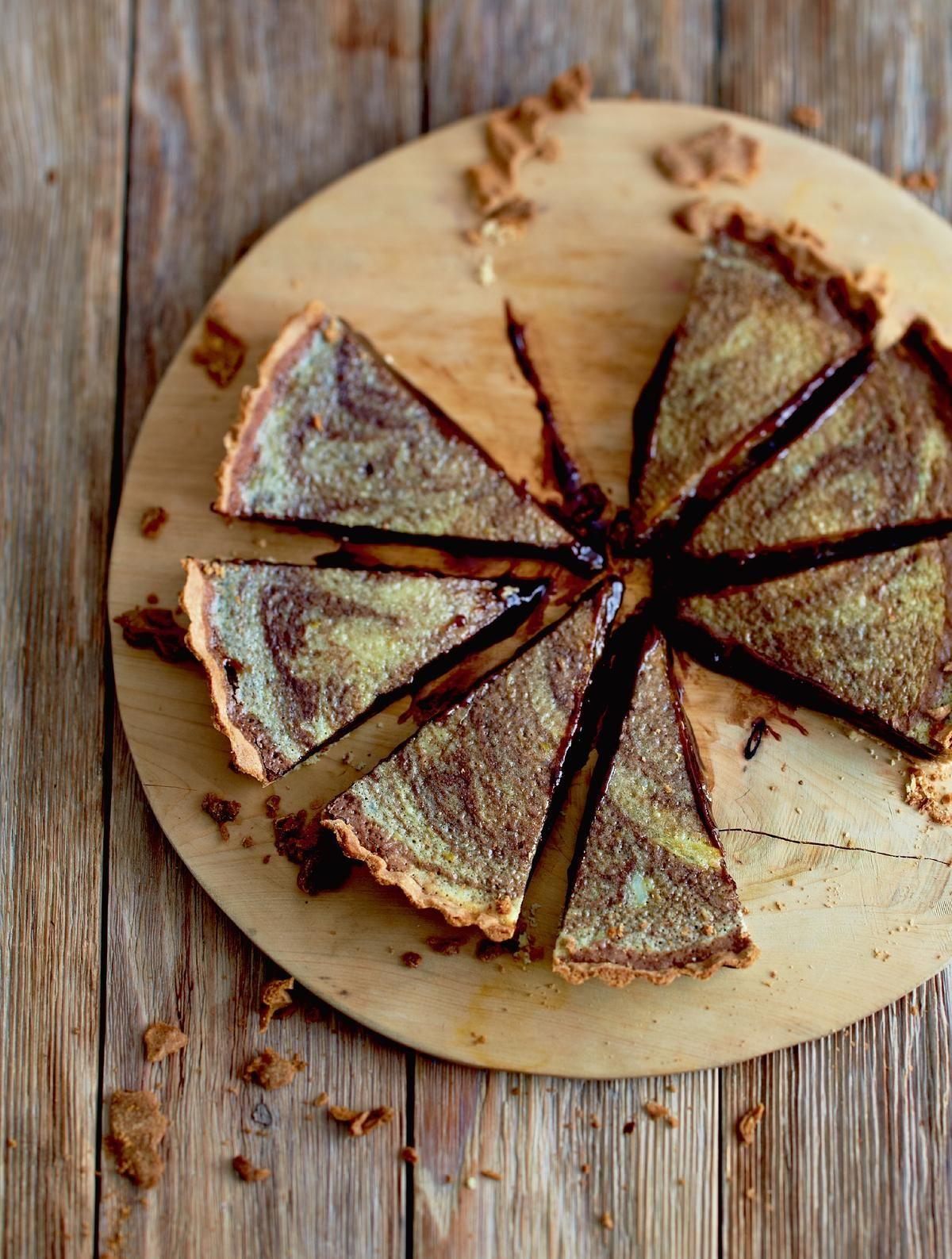 Marys Chocolate Orange Tart