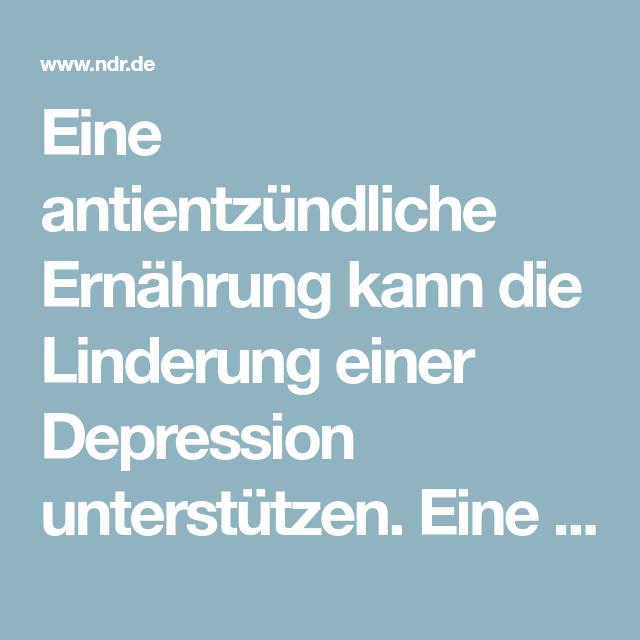 Ingwer Depression