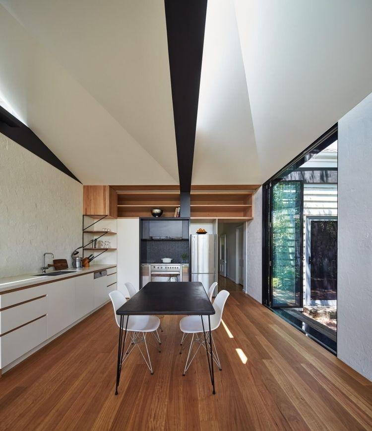 Klinker Weiß Streichen -innen-interior-modern-design