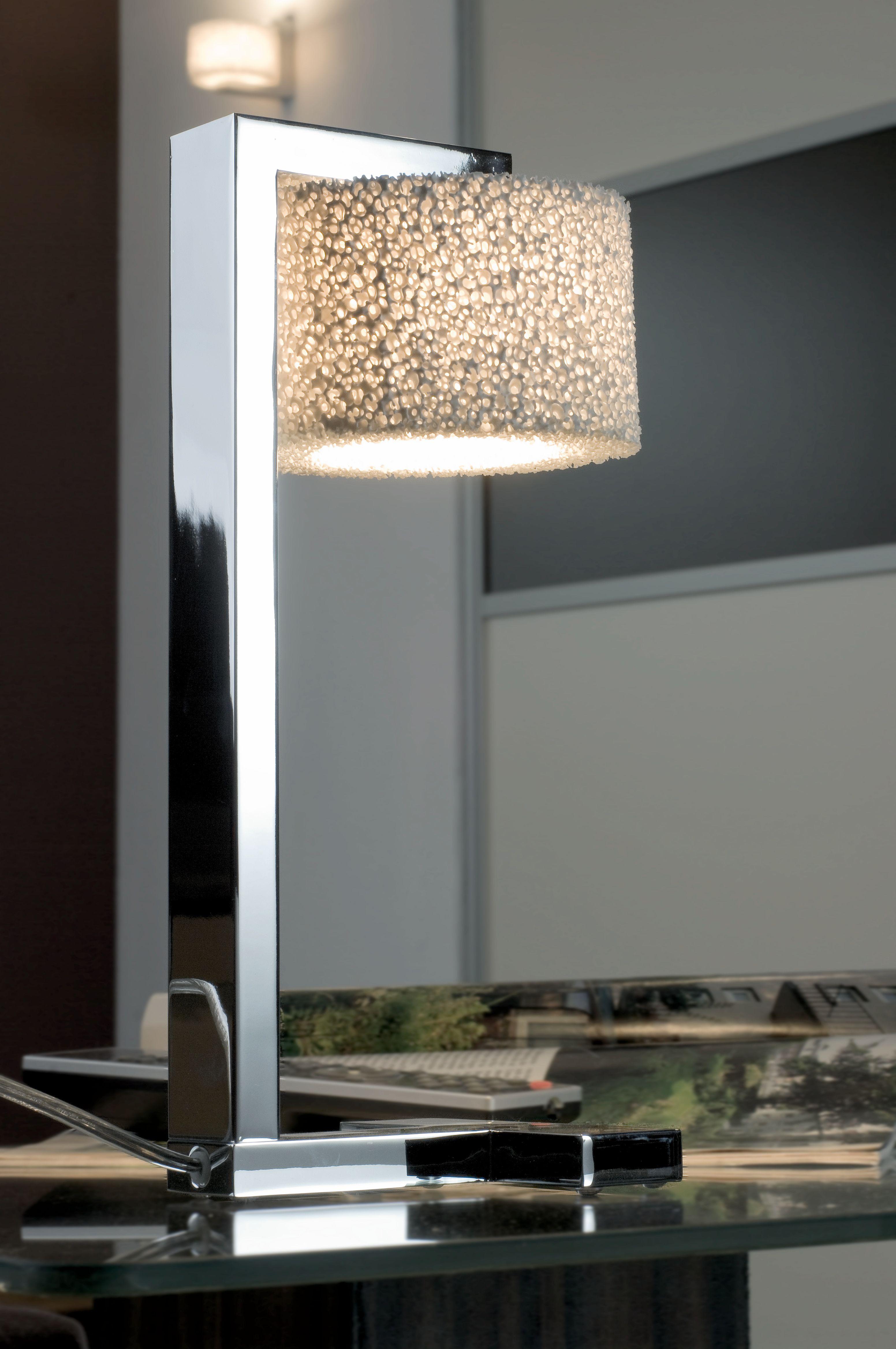 Tischleuchte Reef Table Poliert Design Leuchten Innenarchitektur Design