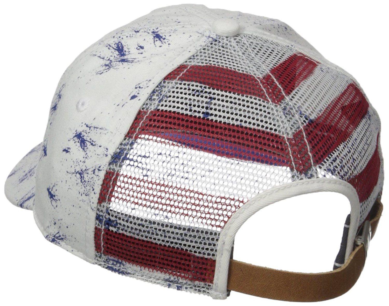 Amazon.com: True Religion Men's Merica Baseball Cap, White, One Size: Clothing