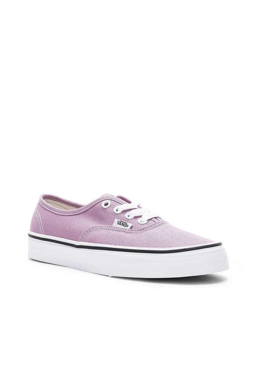 daeb3e5e24c Vans Authentic Sneaker in Sea Fog   True White