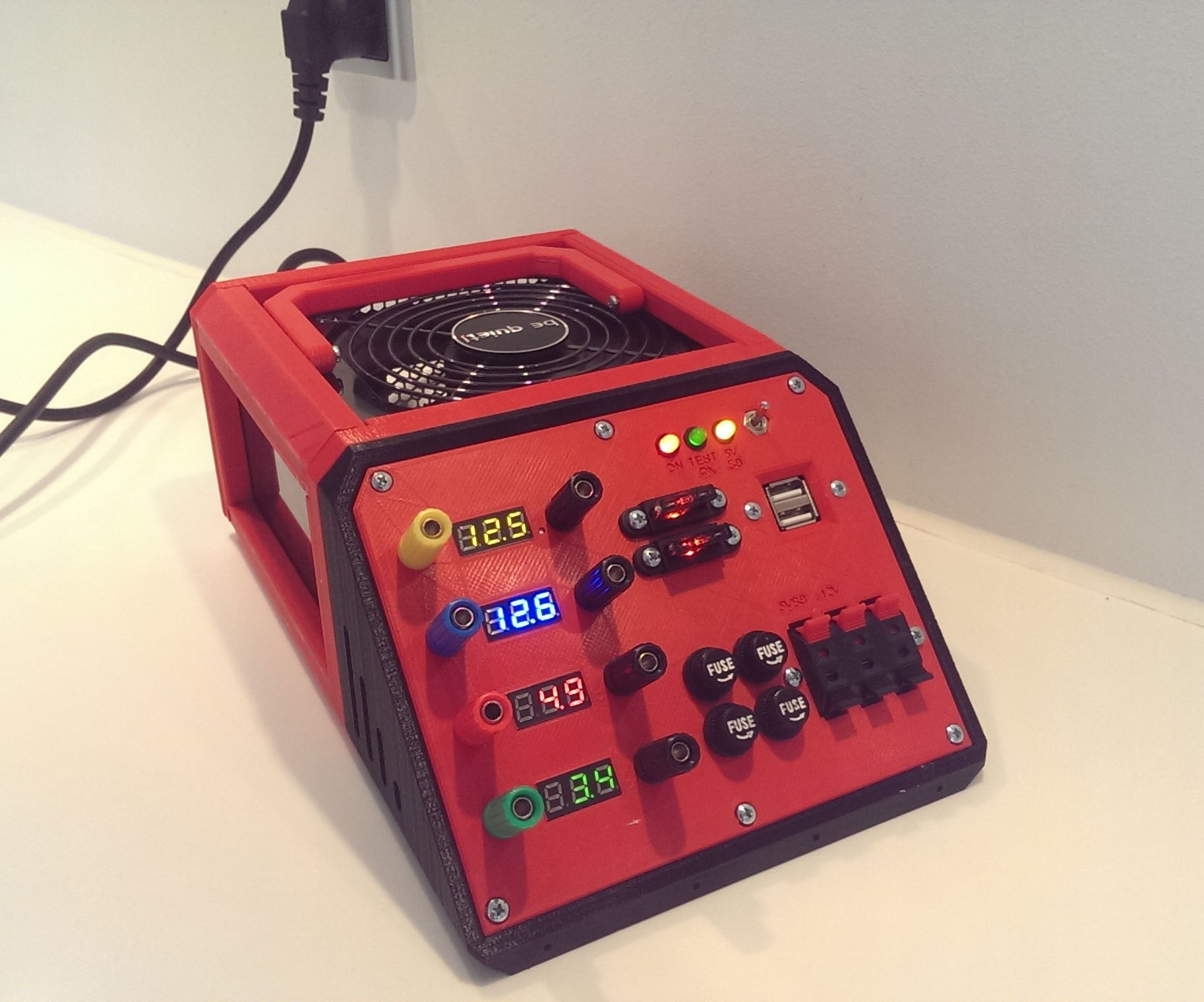 Lab Atx Powersupply Electronics Projects Diy Diy Electronics Computer Power Supplies