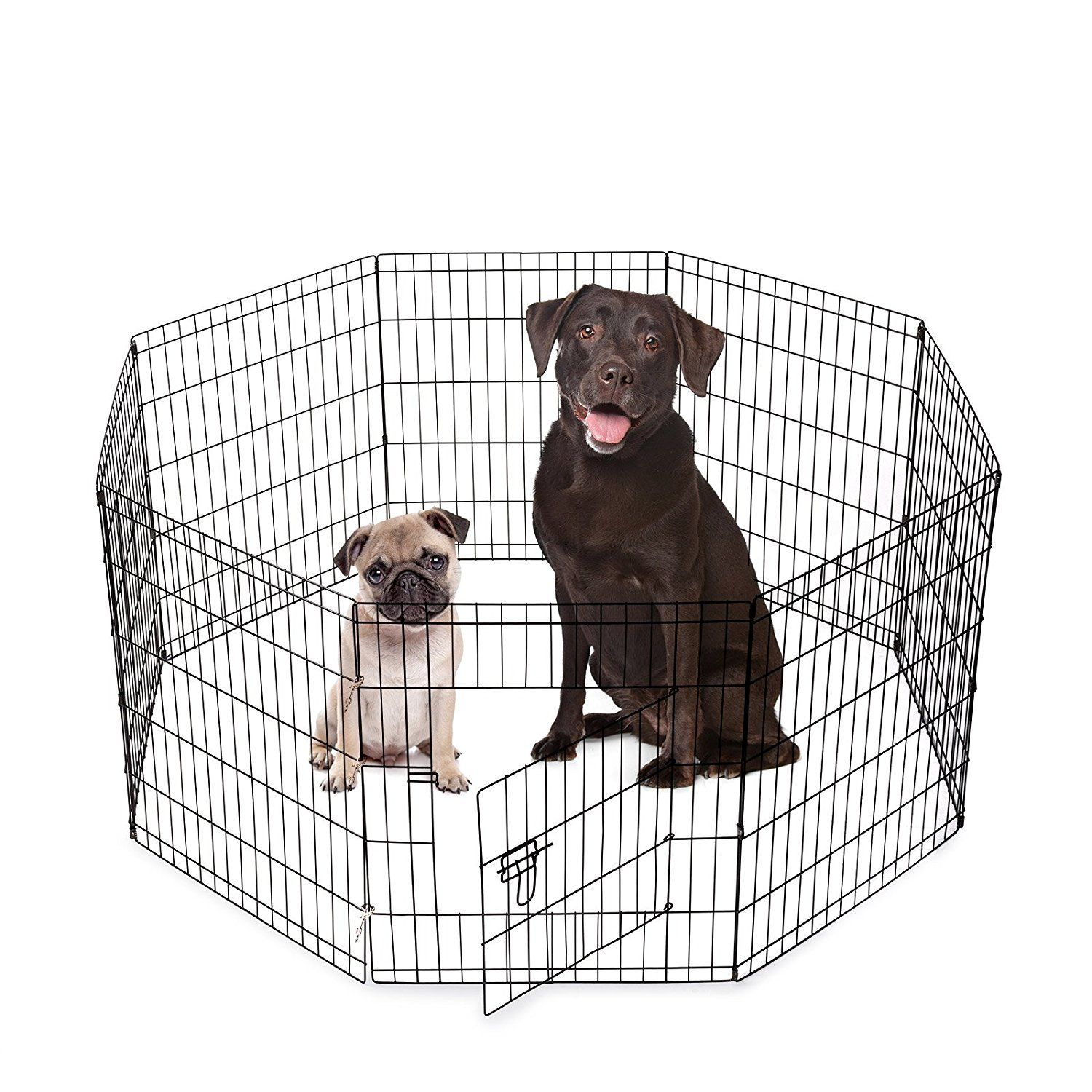 Smithbuilt Animal Dog Playpen Folding Exercise Yard With Door And