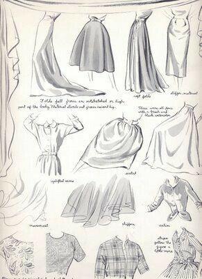 Zeichnen Sie die Falten der Kleidung #clothesdrawing