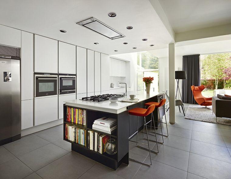 Cocina abierta - la distribución idónea para espacios pequeños ...