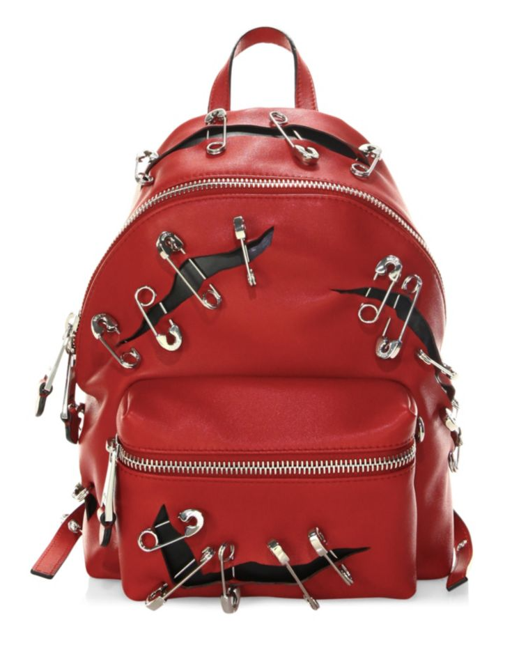 abfebe6894 Moschino Safety Pin Backpack