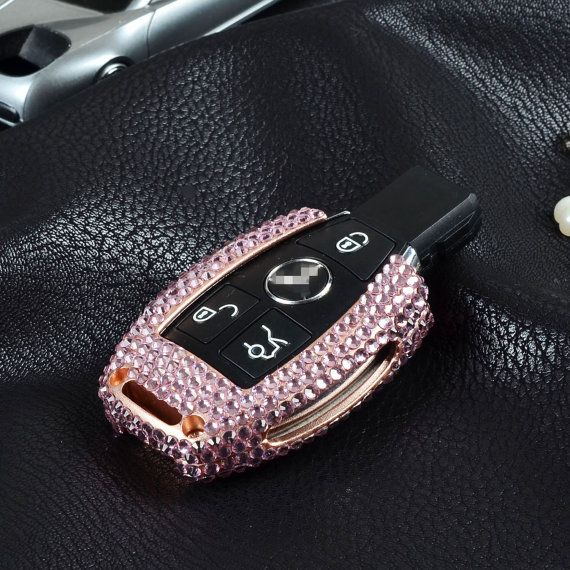 Car key cover for mercedes benz s class diamond by for Key mercedes benz