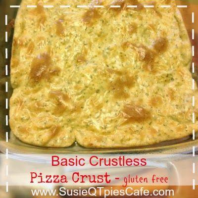 crustless pizza recipe