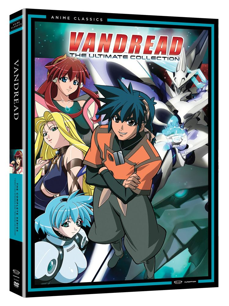 Vandread Ultimate Collection Seasons 1 2 Ovas Dvd Anime Ultimate Collection Anime Inspired