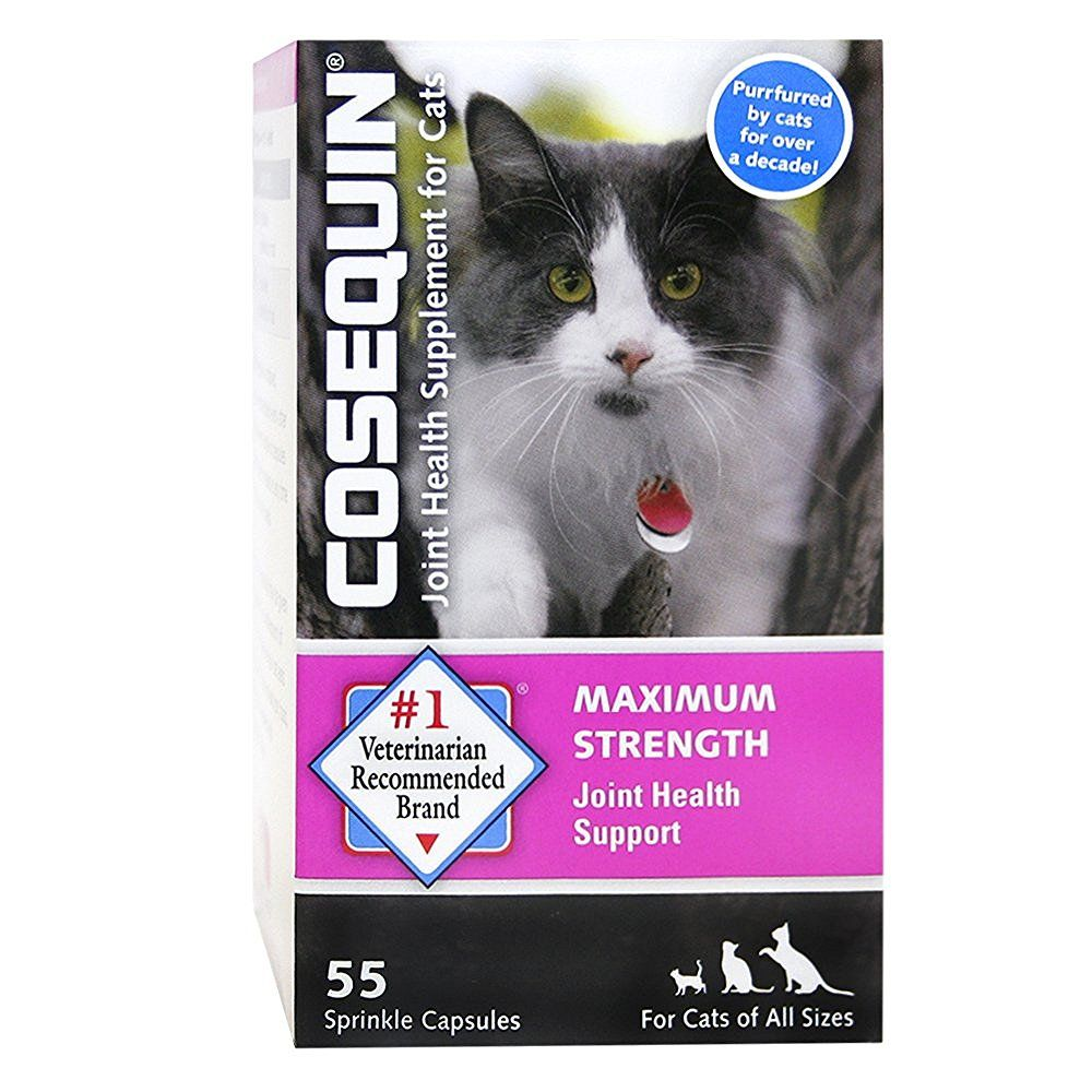 Amazon Com Cosequin Pet Cosequin For Cats 55 Capsules Pet Bone And Joint Suppleme Joint Health Supplement Joint Health Dog Joint Supplement